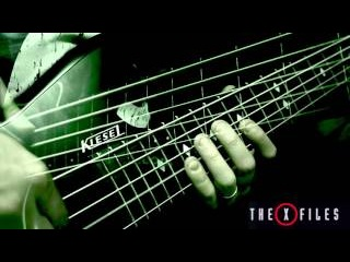 The X-Files theme with bass