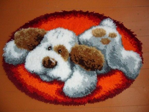 Коврики в ковровой технике