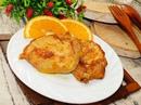 Свинина в маринаде с апельсинами