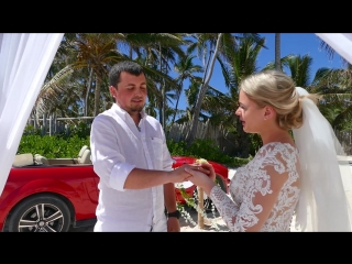 ROMAN & POLINA / Свадьба в Доминикане 2018.04.25
