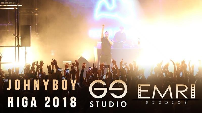 Johnyboy-полный концерт Рига 26.10.2018