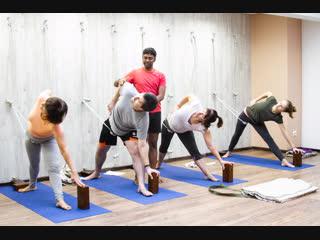 Мастер-класс Йога-Курунта с доктором Рави