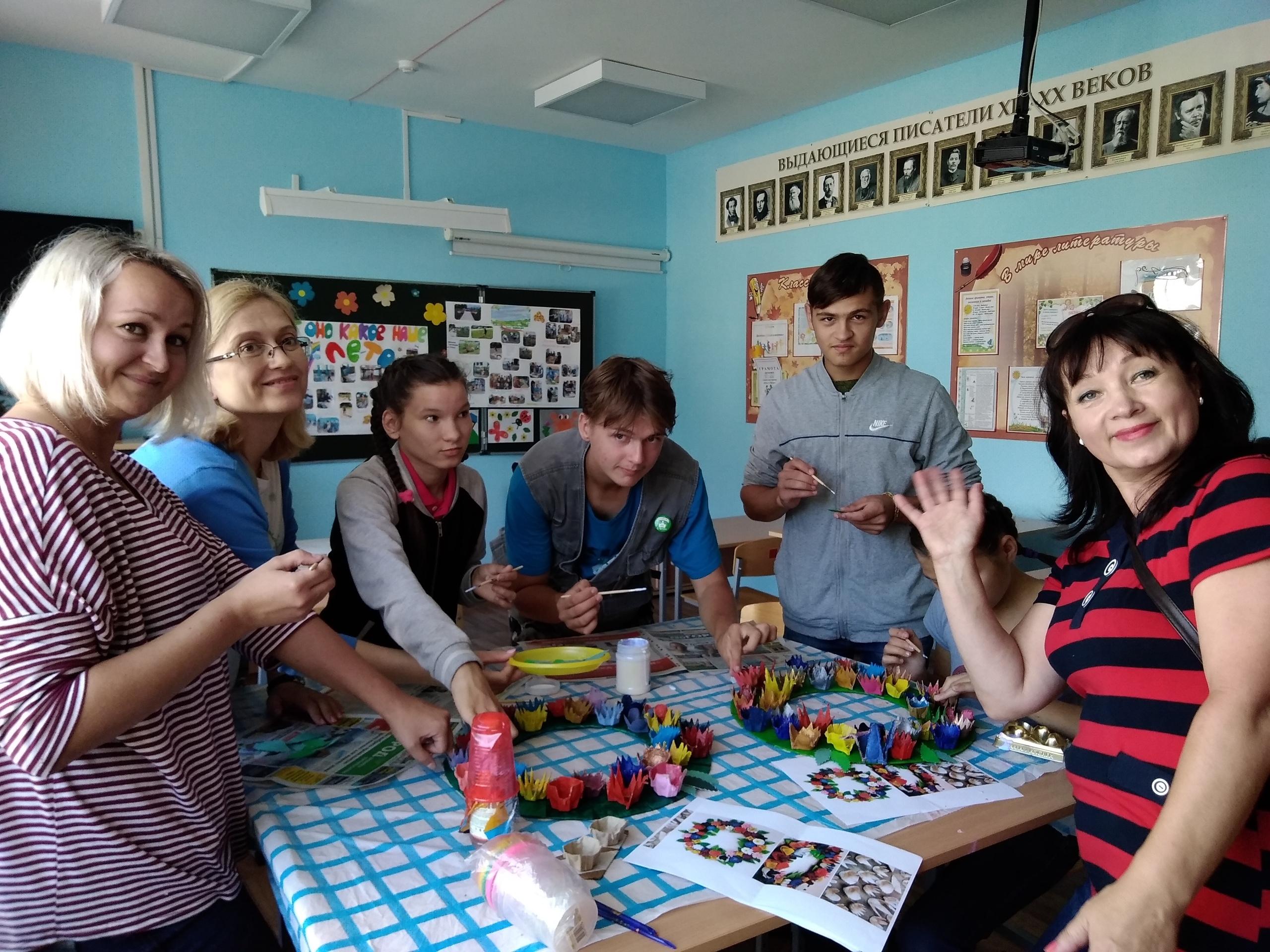 Творчество детей из детских домов