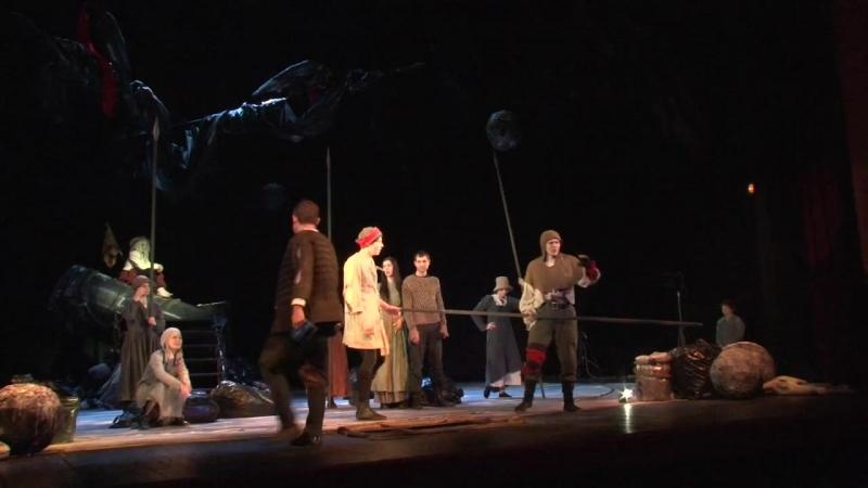 Пресс конференция в Театре Драмы и комедии им Комиссаржевской