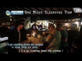 Шоу One Night Sleepover Trip 8 эпизод - Великобритания (Ли Сон Бин, Чо Чжэ Юн,Чон Мин,Ли Сан Мин) рус.суб