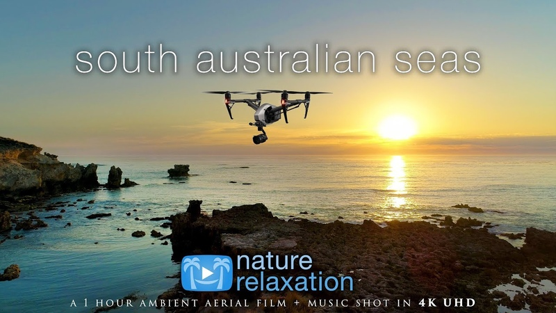 South Australia by Drone (4K) 1 Hour Nature Relaxation™ Ambient Film Light Calming Music