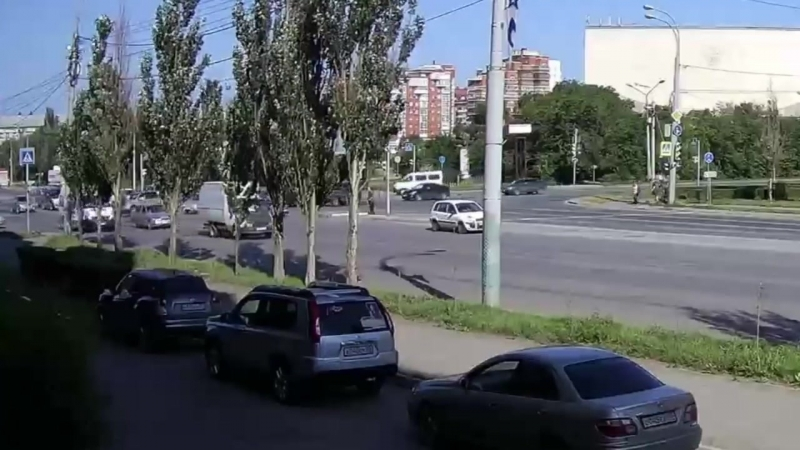 ДТП на перекрёстке ул. Масленникова ул. Куйбышева.