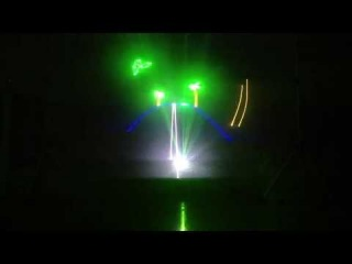 Свадебное лазерное шоу от команды 1show.by