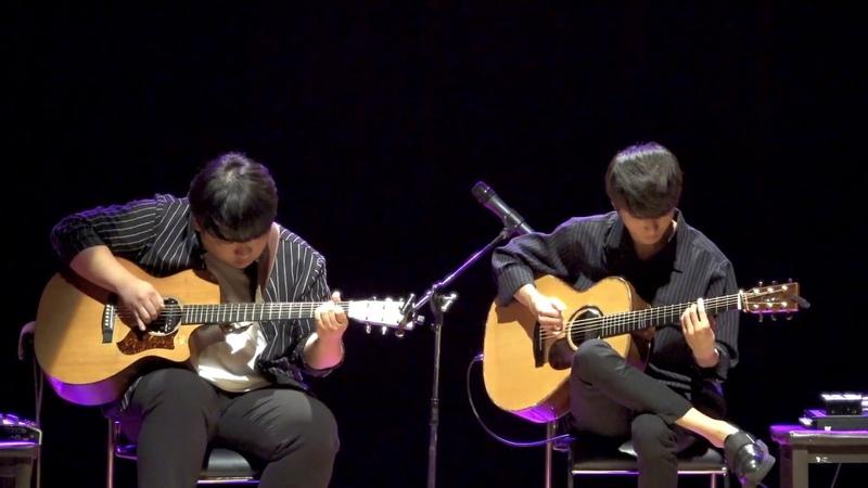 Isn't She Lovely - Jaehoon Jang and Sungha Jung (live) » Freewka.com - Смотреть онлайн в хорощем качестве
