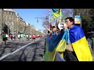 Марафон у Барселоні 2014: АТЛЕТИ З УСЬОГО СВІТУ ЗА МИР В УКРАЇНІ!