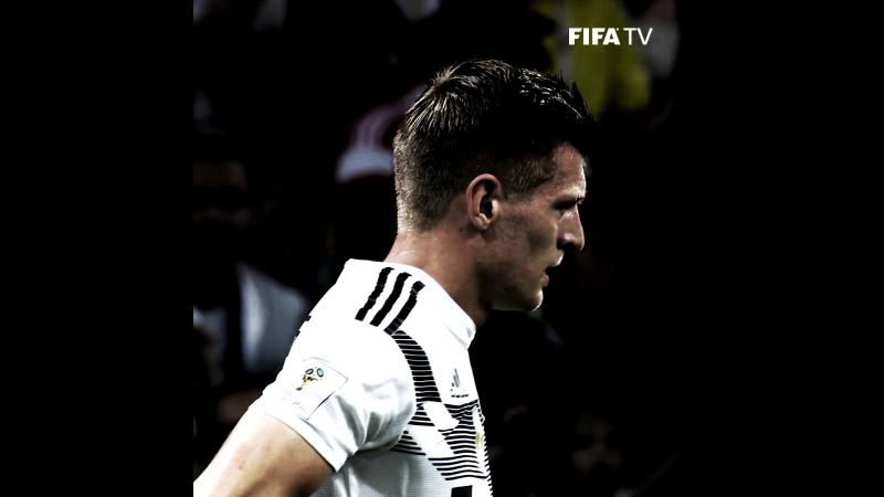 Победный гол Тони Крооса в ворота Швеции