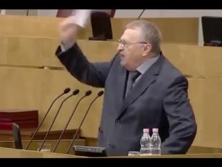 Жириновский о Единой России.