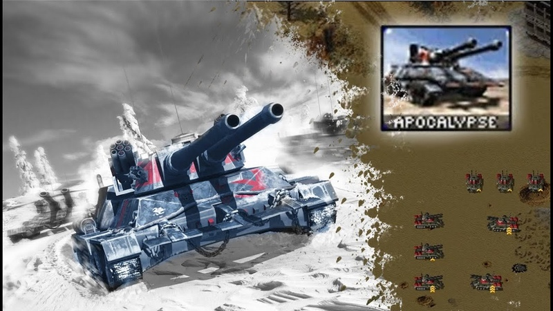 Apocalypse Tank - The ultimate Testing: Red Alert 2 [YR]