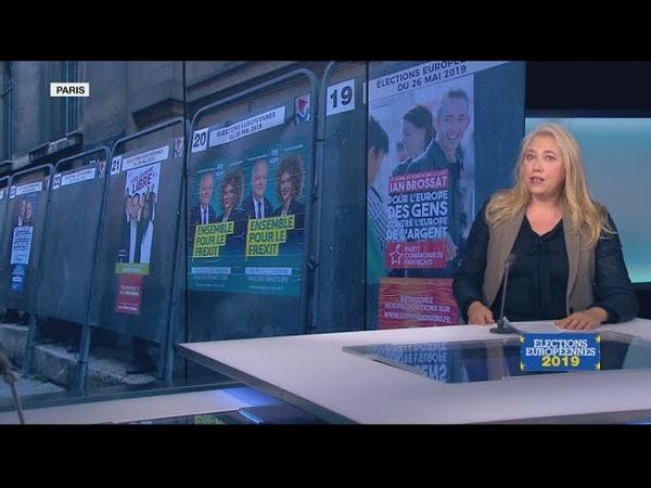 Européennes le casse-tête des 34 listes en France