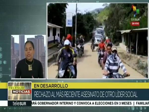 Colombia asesinan en Córdoba al líder campesino Luis Eduardo Garay