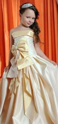 Детские праздничные платья для девочек - 376
