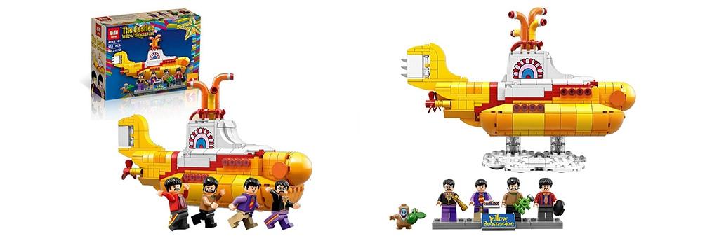 Конструктор Lepin The Beatles: Жёлтая подводная лодка 21012