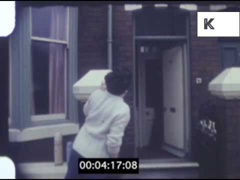 1960s Family Leave for Trip, 8mm Home Movies