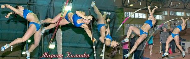 Марина Килипко – победительница чемпионата Украины в прыжках с шестом
