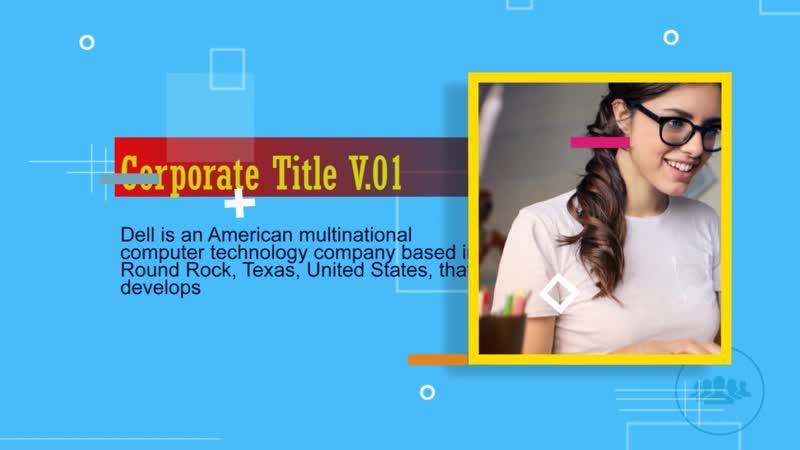 Corporate Title Закажите чудесный видео-клип из фотографий для ваших любимых. В ярком ролике будут запечатлены все самые незабы