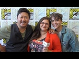 Benedict Wong &amp Benjamin Wadsworth - Deadly Class - San Diego Comic Con 2018