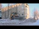 Рейд по уборке снега в Дмитрове