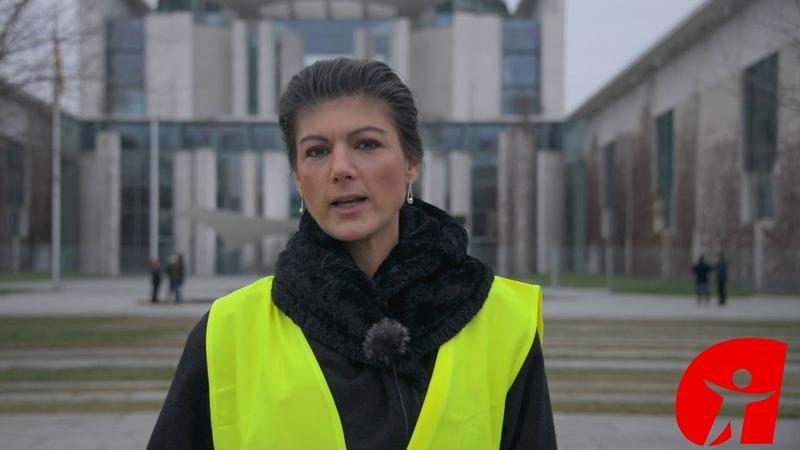 Sahra Wagenknecht Druck wie von den Gelbwesten brauchen wir auch in Deutschland