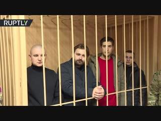Суд продлил арест задержанным в Керченском проливе украинским морякам