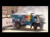 Bavaria City Racing Moscow 2010 - Dakar Trucks drift