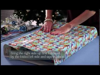 How to wrap large presents like a professional