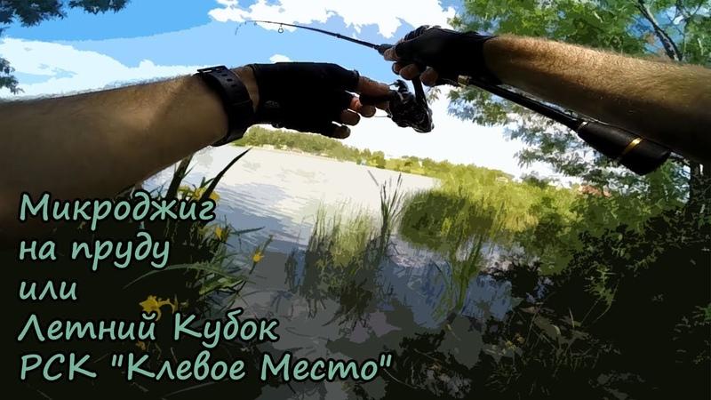 Микроджиг на пруду или летний кубок РСК Клевое Место 16.05.2018
