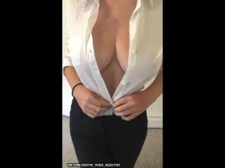 My big naturals tits downblouse