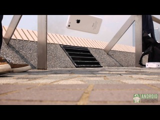 Первый Дроп-Тест iPhone 5S и 5C.