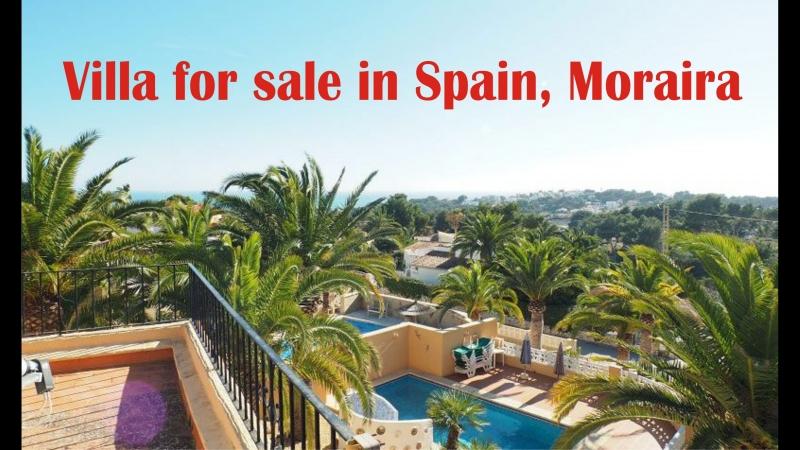 Продажа виллы с бассейном в Испании, Морайра