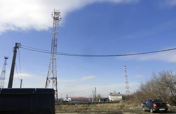 Сколько же там вышек телекомов