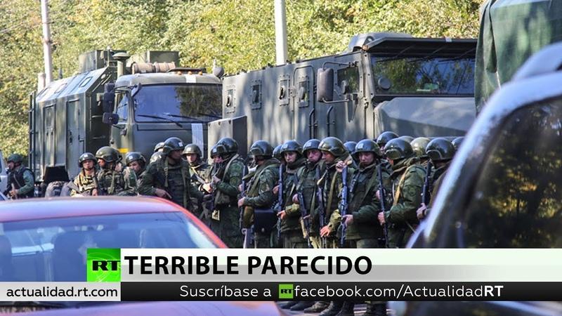 Semejanza espantosa La masacre de Crimea sigue el patrón de Columbine