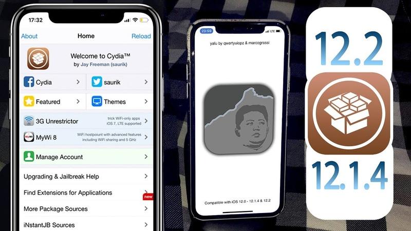 Jailbreak 12.2 - 12.1.4 - 12.1.3 iOS with Cydia! Yalu JB IPA Impactor NEW!