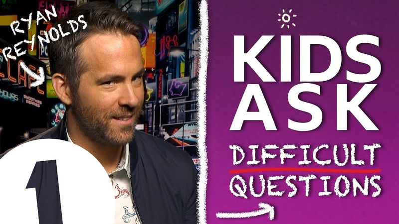 Why do you swear so much?!: Kids Ask Ryan Reynolds Difficult Questions vk.com/topnotchenglish