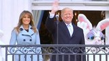 President Trump and the First Lady Melania Trump Host the White House Easter Egg Roll. April 2, 2018