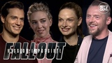 Mission Impossible Fallout Cast Interviews - Henry Cavill, Simon Pegg, Vanessa Kirby