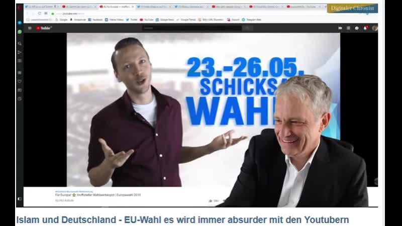 Der Typ ist sooo GEIL! - Vom feinsten - die beste EU-Wahlwerbung (2019) die du je gesehen hast!