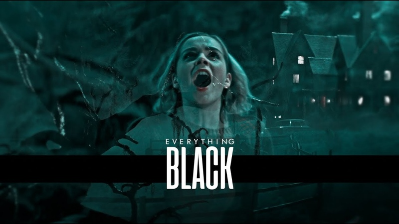 ❖ chilling adventures of sabrina [everything black]