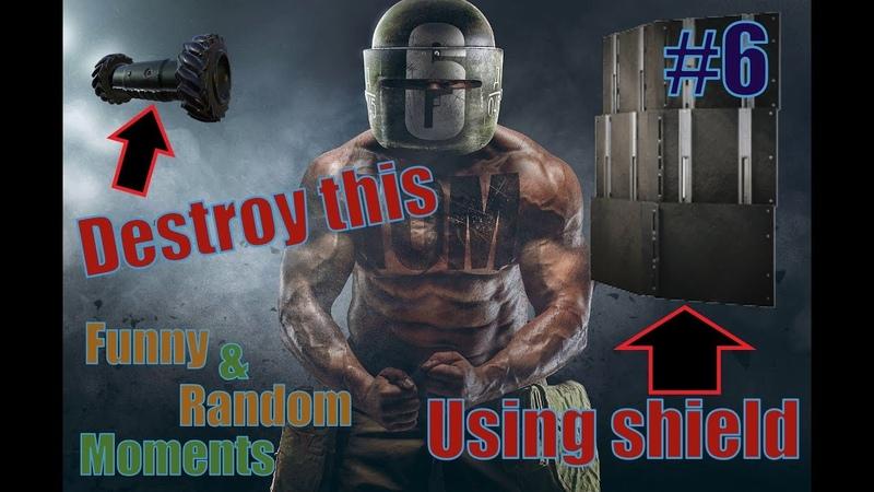 Как уничтожить дрон щитом Тачанки?! Смешные Моменты 6. Rainbow Six Siege