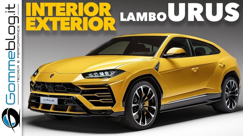 Lamborghini URUS INTERIOR and EXTERIOR Design
