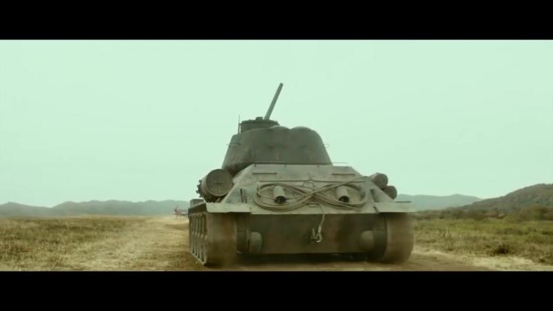 Т-34-85 vs P-51 (русский перевод) 720p