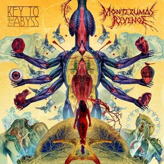 Вышел дебютный альбом MONTEZUMA'S REVENGE - Key To The Abyss (2013)