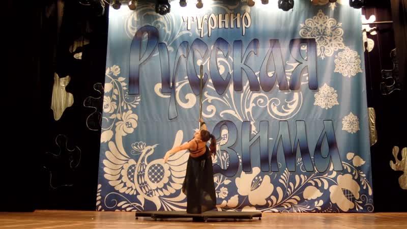 Минакова Ольга - дебютное выступление