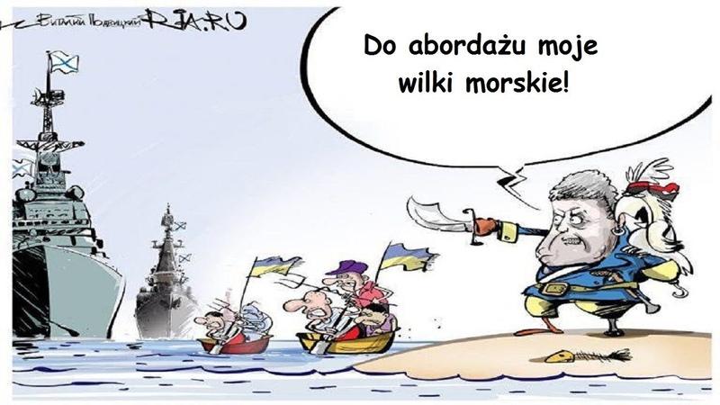 Incydent w Cieśninie Kerczeńskiej ukraińską prowokacją?
