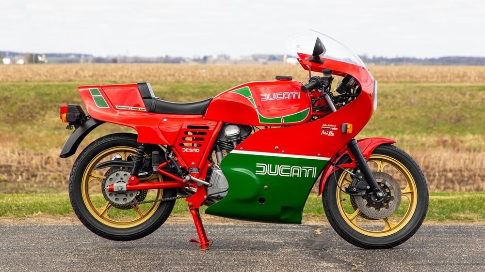Мотоцикл Ducati Mike Hailwood Replica 1985