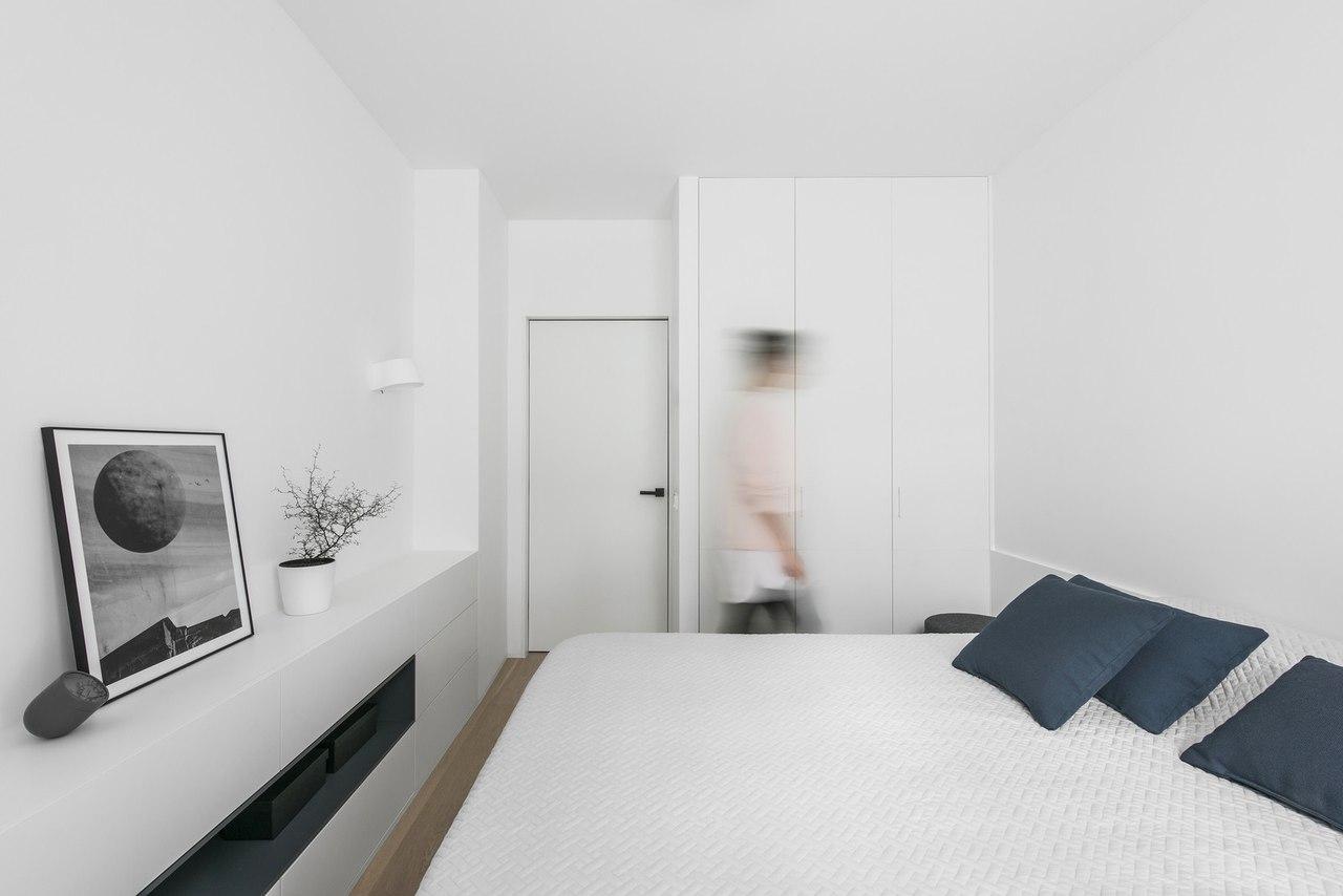 Лаконичный интерьер небольшой квартиры, 49 кв.